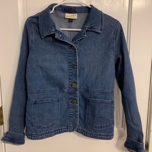 Target Denim Jacket Size Medium Blue Never Worn
